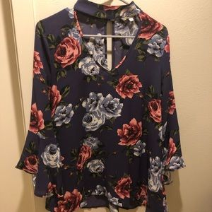 Andrew By Unit Floral Top
